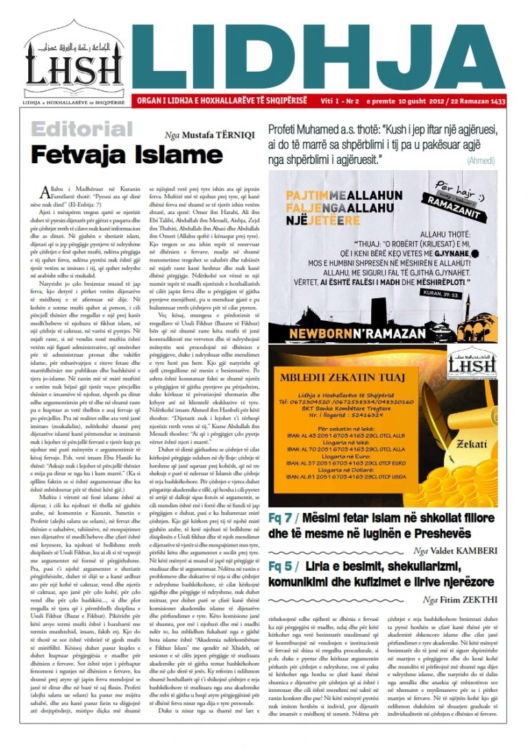 Gazeta LIDHJA